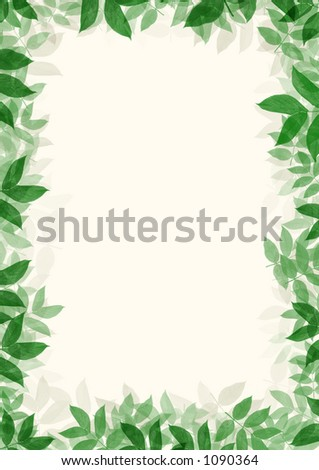 Nice layered frame of green leaves. Very high resolution.