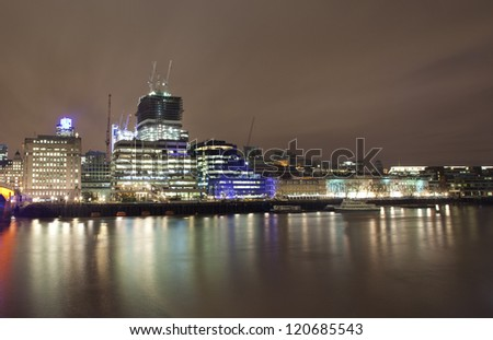 Nice photo of the citylife in London
