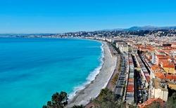 Nice, Promenade Anglais, Cote d'Azur, Provence, France