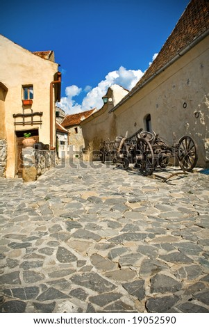Need Your Stone Opinion! Stock-photo-nice-view-of-pavement-street-in-ancient-medieval-city-19052590