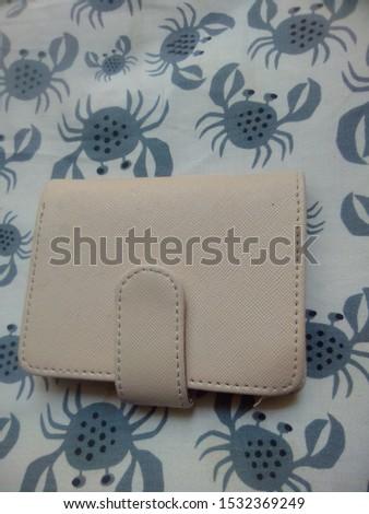 nice wallet and nice bag