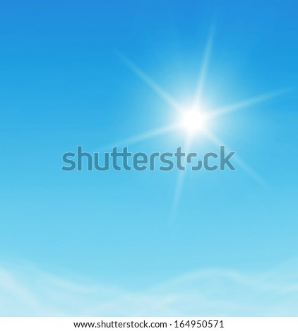 Nice white cloud on the sky - Shutterstock ID 164950571