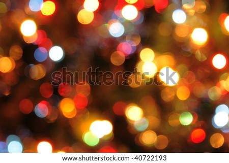 nice xmas background from the color lights | EZ Canvas