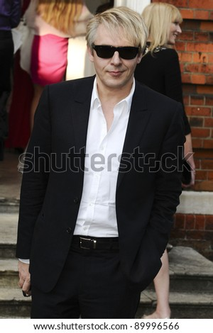 Nick Rhodes arriving for the English National Ballet Summer Party 2011, The Orangery, Kensington Gardens, London. 29/06/2011  Picture by: Steve Vas / Featureflash