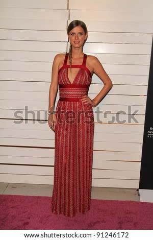 Nicky Hilton at Rodeo Drive Walk Of Style Honoring Iman And Missoni, Rodeo Drive, Beverly Hills, CA 10-23-11