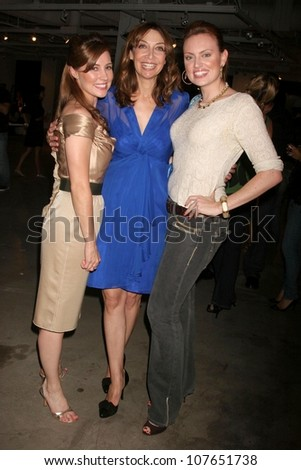 Nicole Lamahns with Illeana Douglas and Jilina Scott  at the Launch Party for Ikea's 'Easy To Assemble' Web Series. Architecture and Design Museum, Los Angeles, CA. 09-18-08