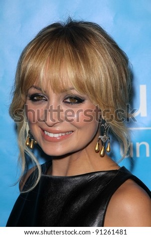 Nicole Richie at the 2011 Unicef Ball, Beverly Wilshire Hotel, Beverly Hills, CA 12-08-11 - stock photo