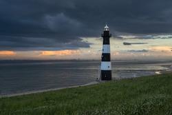 Nieuwe sluis Lighthouse in Zeeland