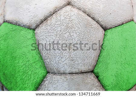 nigeria football ball texture
