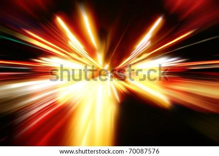 night acceleration motion