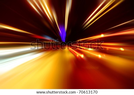 night acceleration motion street racing