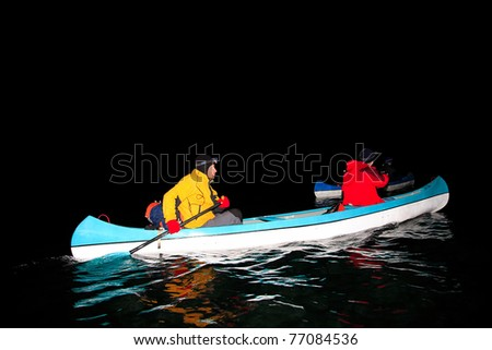 Night Canoeing