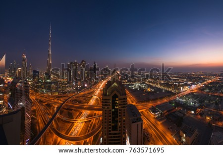night city DUBAI  #763571695