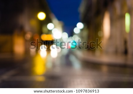 night city life  car and street ...