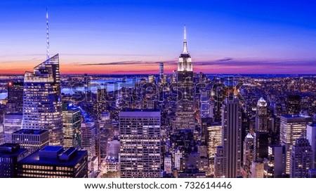 night cityscape #732614446