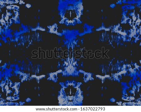 Night Creative Tie Dye. Navy Chevron Ornament. Black Stain Grungy Effect. Glow Aquarelle Paint. Rough Rough Art Style. Bright Oil Ink. Snow Brushed Material. Denim Washed Background