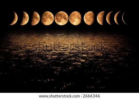 Night has a thousand eyes, or separately phase of  the moon