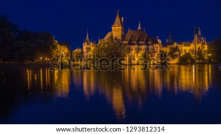 Night in Budapest Stock fotó ©