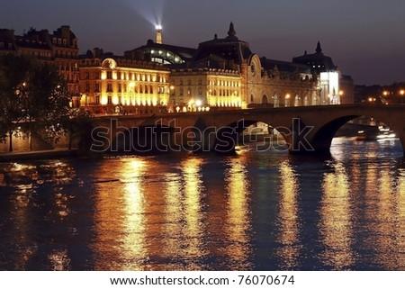 Night in Paris a la Renoir