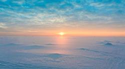 Night is Coming Ice Desert