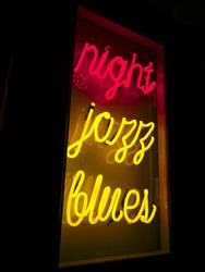 Night Jazz Blues Neon Light Sign