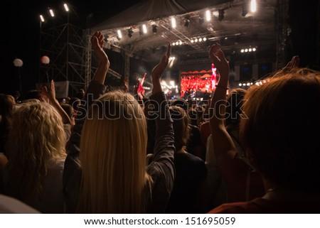 night life on festival  #151695059