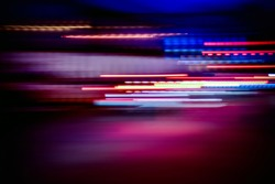 night light colorful abstract background, light of night