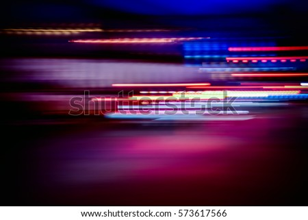 night light colorful abstract background, light of night #573617566