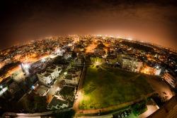 Night over Bangalore