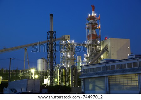 night paper factory