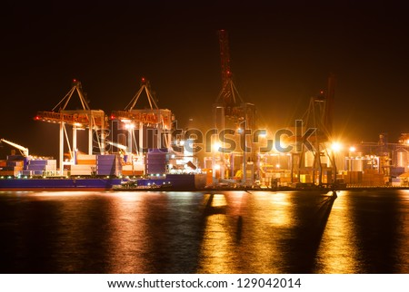 night port and ship