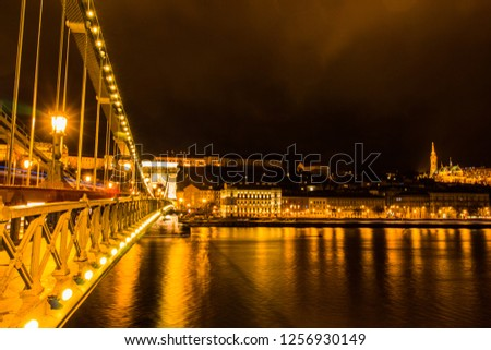 Night Scapes of Budapest #1256930149