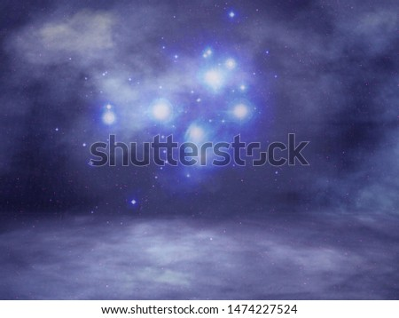 Night Sky Background Studio Portrait Backdrops #1474227524