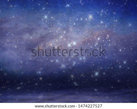 Night Sky Background Studio Portrait Backdrops #1474227527