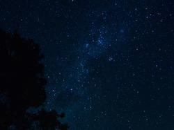 Night sky in Chile, Ocoa, 2019