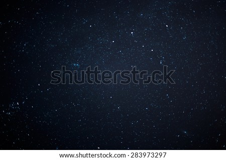 Night sky with stars. - Shutterstock ID 283973297