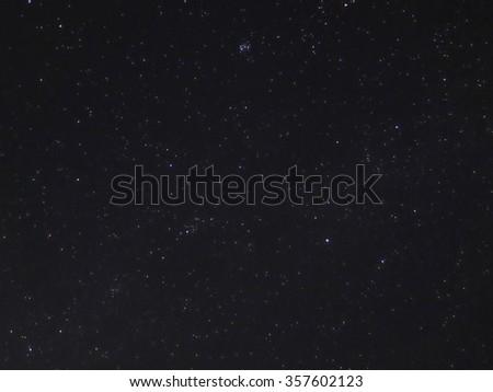Night Sky With Stars  #357602123