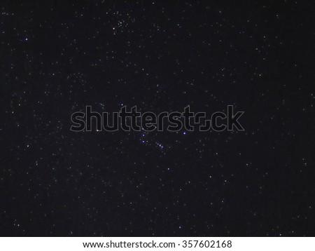 Night Sky With Stars  #357602168