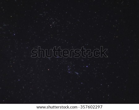 Night Sky With Stars  #357602297