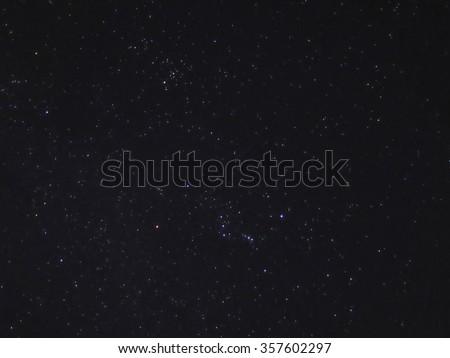 Night Sky With Stars  #357602297