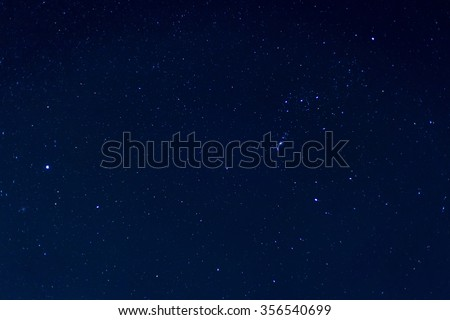 Night sky with stars backgrounds - Shutterstock ID 356540699