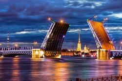 Night St. Petersburg white nights