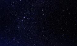 Night stars sky - background