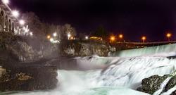 Night Time Waterfall