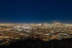 Night view of Sapporo, Hokkaido selected as Japan's three major night views