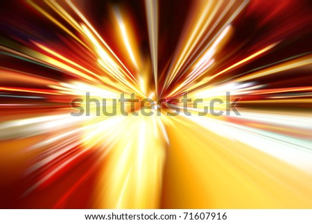 night zoom acceleration motion
