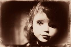 nightmare doll tintype