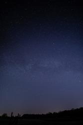 Nightscape Landscape Stars Photo