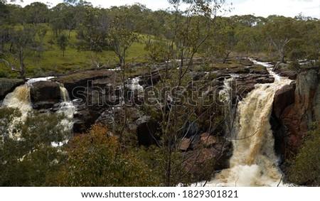 Nigretta Falls Hamilton South West Victoria Australia Stock photo ©