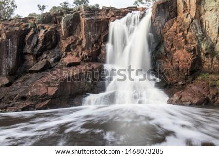 Nigretta Falls, Waterfall in Victoria Australia Stock photo ©